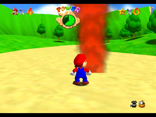 Kaizo Mario 64 - Location Outside of the Castle - You mean Mario could