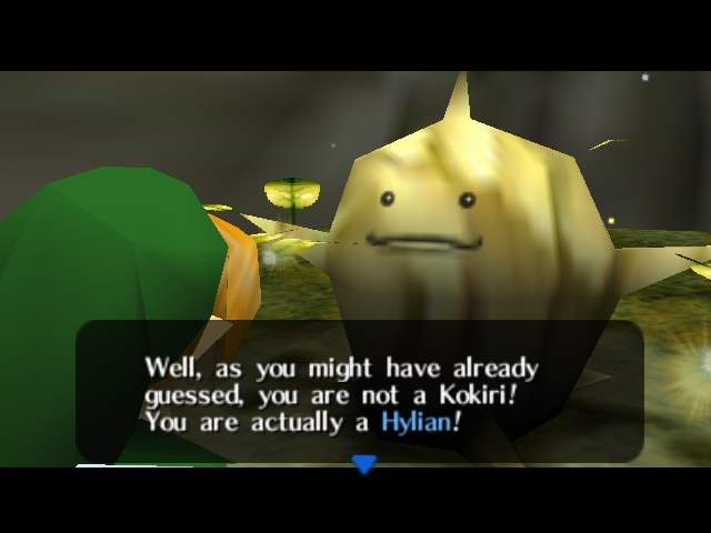 The Legend of Zelda - Ocarina of Time - Cut-Scene  - Greatest Plot Twist Ever... OR NOT! - User Screenshot