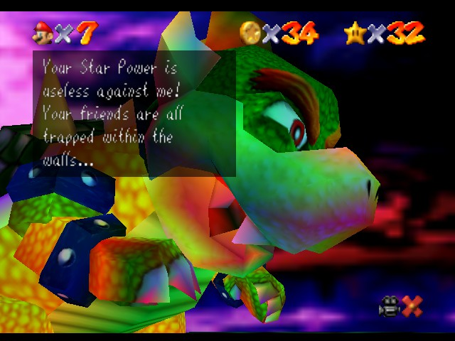 Super Mario 64 - Level Bowser In the Dark World - How, though? - User Screenshot