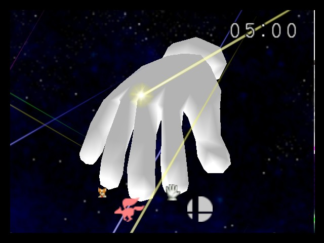 Super Smash Bros. - Battle  - Master Hand... What else? - User Screenshot