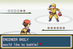 Pokemon Fire Red - Battle  - Is He A CB? - User Screenshot