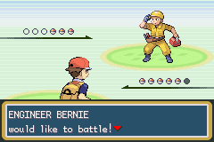 Pokemon Fire Red - Battle  - Do All Of These Guys Have B Names? - User Screenshot