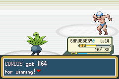 Pokemon Fire Red - Battle  - Cheapskate - User Screenshot