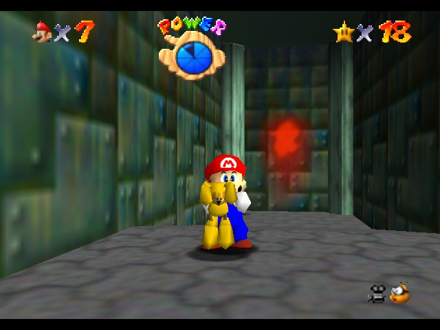 Super Mario 64 - Using the keyboard... Well, that wasn
