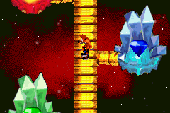 Crash Bandicoot 2 - N-Tranced - World Map  - Blue ,green and red gem island!!!!! - User Screenshot