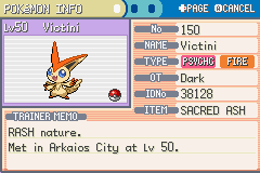 U CAN GET VICTINI WITHOUT CATCHING IT