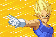Dragon Ball Z - Supersonic Warriors - Misc Full power attack - He has a mustache on his forehead :P - User Screenshot