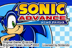 Sonic Advance - Introduction  -  - User Screenshot
