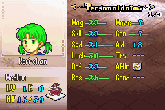 Fire Emblem - Gheb Fe - Character Profile  - Revenge of the Loli - User Screenshot