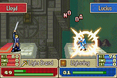 Lucius -Battle :My lightning is stronger than yours  - User Screenshot