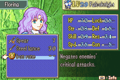 Florina -Character Profile :HOLD UP HOLD THE PHONE HOLD IT - User Screenshot