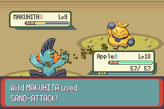 Pokemon Emerald - Battle  - She fights dirty! - User Screenshot