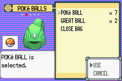 Pokemon Emerald - Battle  - Going for the capture is our only choice - User Screenshot