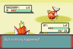 Pokemon Emerald - Battle  - Oh my word! What an absolutely amazing battle - User Screenshot