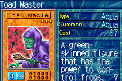 Yu-Gi-Oh! - The Sacred Cards - Character Profile  - Toad master - User Screenshot