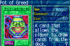 Yu-Gi-Oh! - The Sacred Cards - Battle  - Pot of greed - User Screenshot
