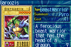 Yu-Gi-Oh! - The Sacred Cards - Battle  - Dinosaur - User Screenshot