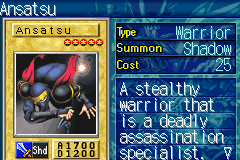 Yu-Gi-Oh! - The Sacred Cards - Character Profile  - Ansatsu - User Screenshot