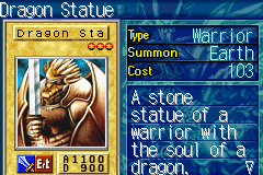 Yu-Gi-Oh! - The Sacred Cards - Battle  - dragon statue - User Screenshot