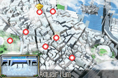 Yu-Gi-Oh! - The Sacred Cards - World Map  - Aquarium - User Screenshot