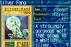 Yu-Gi-Oh! - The Sacred Cards - Character Profile  - Silver fang - User Screenshot