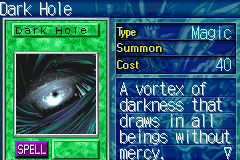 Yu-Gi-Oh! - The Sacred Cards - Character Profile  - Dark hole - User Screenshot