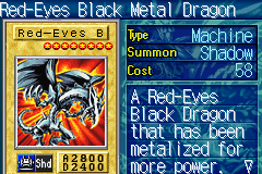 Yu-Gi-Oh! - The Sacred Cards - Character Profile  - Red eyes - User Screenshot