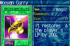 Yu-Gi-Oh! - The Sacred Cards - Misc  - mmmm curry - User Screenshot