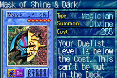 Yu-Gi-Oh! - The Sacred Cards - Battle  - Masked man - User Screenshot