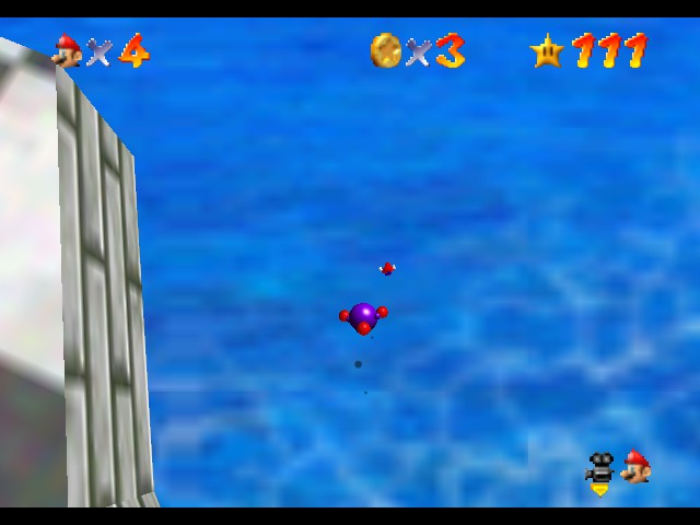 Super Mario 74 - Misc death - what just happened?!?! - User Screenshot