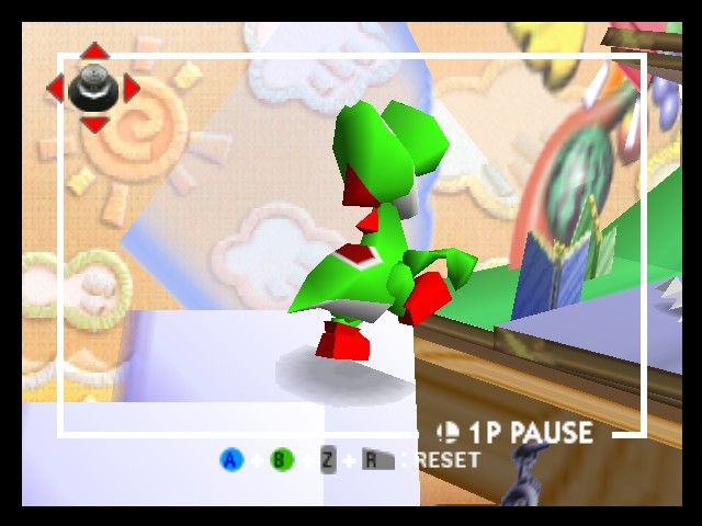 Super Smash Bros. - Battle  - world 5 yoshi