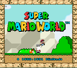 Super Mario World - Introduction  - Introduction - User Screenshot