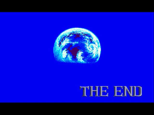Lunar: The Silver Star - Ending  - The End - User Screenshot