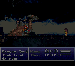 Chrono Trigger - Battle  - Dragon Tank Battle 1 - User Screenshot