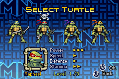 Donatello -Character Select :Raphael Turtle Select - User Screenshot