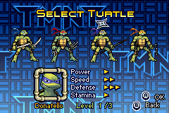 Donatello -Character Select :Donatello Turtle Select - User Screenshot