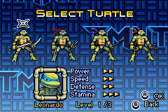 Donatello -Character Select :Leonardo Turtle Select  - User Screenshot
