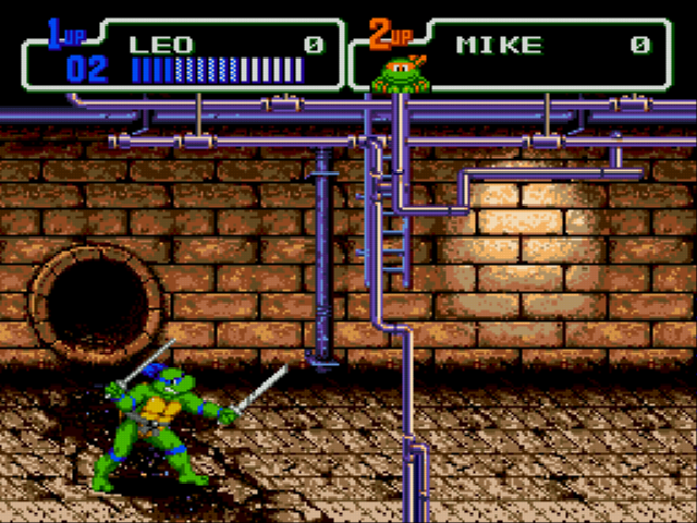 Teenage Mutant Ninja Turtles - The Hyperstone Heist - Level  - Beginning - User Screenshot
