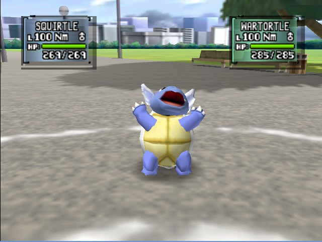 Pokemon Stadium 2 - Battle  - Wartortle - User Screenshot