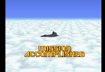 Ace Combat 2 - Ending  - Finish Normal Aircraft - User Screenshot