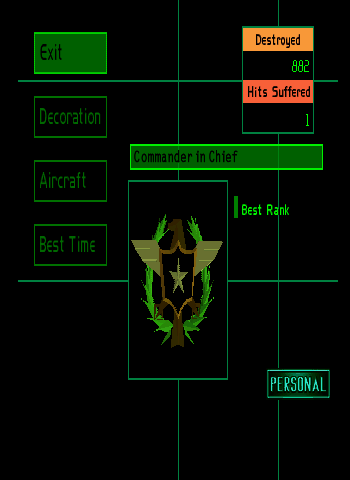 Ace Combat 2 - Misc  - Personal Achievements - User Screenshot