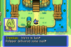 Pokemon Mystery Dungeon - Red Rescue Team - Cut-Scene  - The box was empty when they were here! - User Screenshot