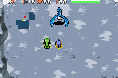 Pokemon Mystery Dungeon - Red Rescue Team - Battle  - Arcticno: Run Breaker Mark 3 - User Screenshot