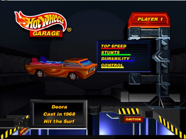 Hot Wheels Turbo Racing - Misc  - orange car for scavenger hunt - User Screenshot