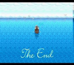 Final Fantasy - Mystic Quest - Ending  -  - User Screenshot