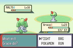 Pokemon Emerald - Battle  - looks fair - User Screenshot