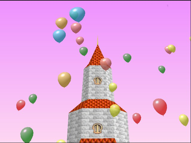 Mario Kart 64 - Ending  - ballons - User Screenshot