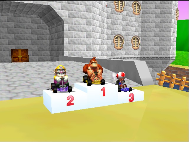 Mario Kart 64 - Ending  - back to back - User Screenshot