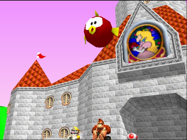 Mario Kart 64 - Cut-Scene  - giant fish above me - User Screenshot