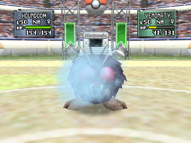 Pokemon Stadium 2 - Battle  - toxic - User Screenshot